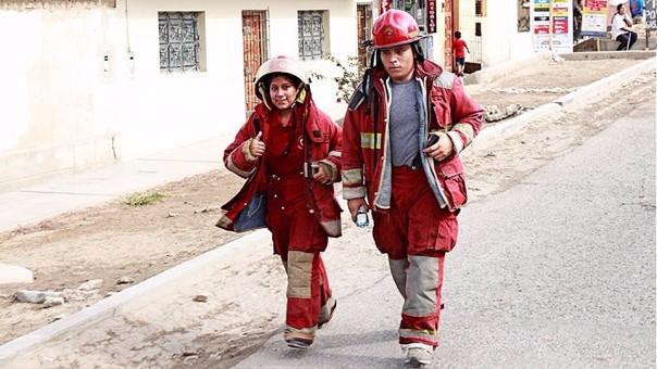Bomberos de Trujillo
