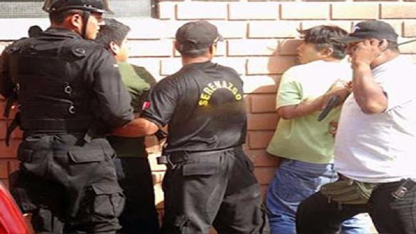 Detención de integrantes de banda
