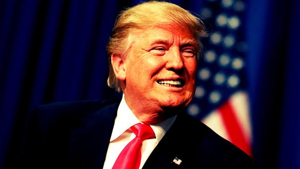Donald Trump no tuvo problemas en bromear sobre la amenaza nuclear de Corea del Norte.