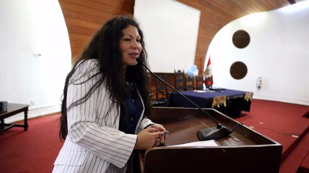 Yesenia Ponce representa a Áncash.