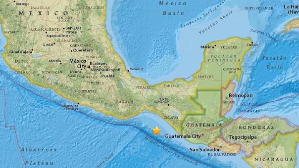 Sismo fuerte en México