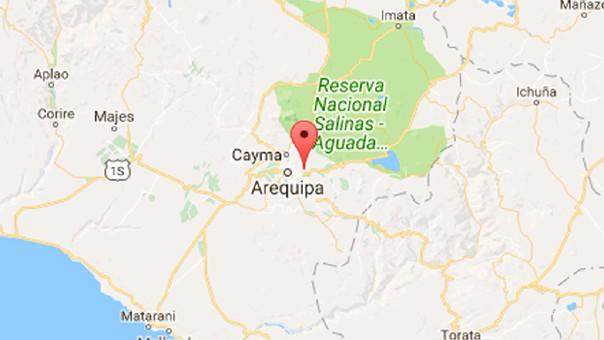 VENEZUELA: En Perú: Sismo de 5,2 grados sacudió Arequipa este miércoles