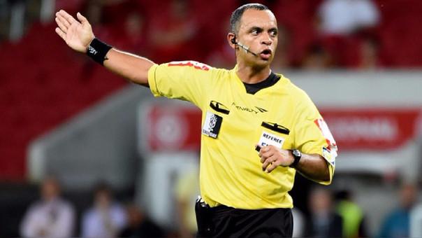 El brasileño Wilton Sampaio será árbitro para el juego crucial Argentina-Perú