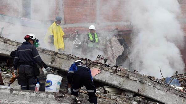 Se eleva a 217 fallecidos tras terremoto en México — VENEZUELA