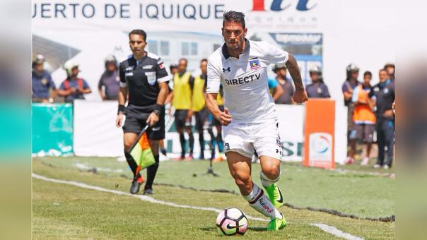 Mark González llegó a Colo Colo la temporada pasada.