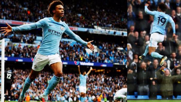 Leroy Sané ha marcado 5 goles en sus últimos 5 partidos con el Manchester City en esta temporada.