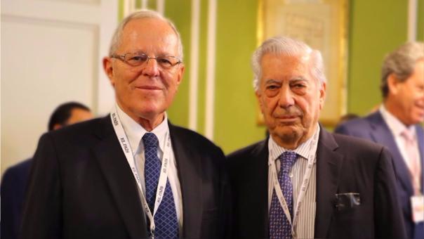 Mario Vargas Llosa apoyó a PPK en su contienda ante Keiko Fujimori en las elecciones del 2016.