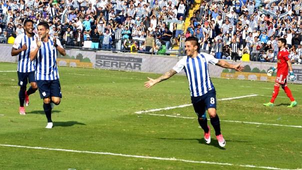 Alejandro Hohberg marcó su quinto gol en el año con Alianza Lima
