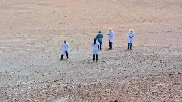 La NASA estudia la superficie de Marte... en Perú