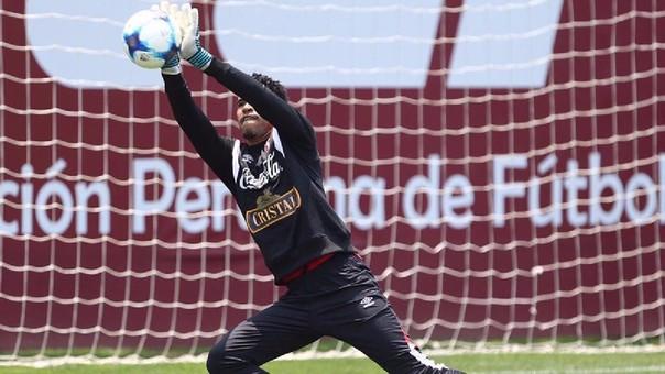 Pedro Gallese ha recuperado mejor de lo esperado y es una de las opciones para el partido contra Argentina.
