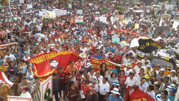 Protesta Satipo