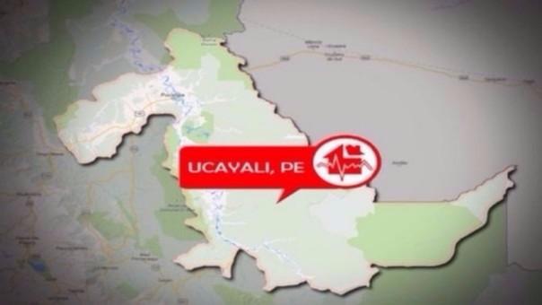 Sismo en Ucayali