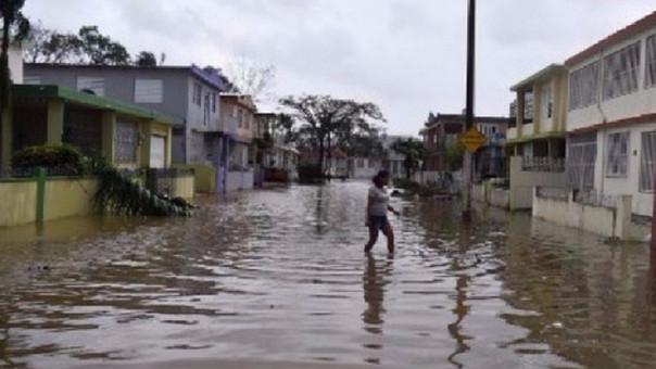 Ciudad de Mayagüez de Puerto Rico, inundada