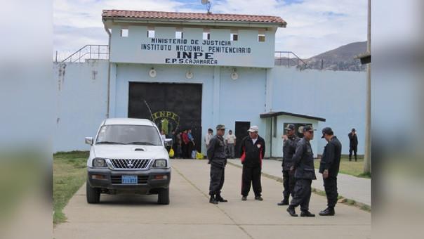 Personal del INPE refuerza medidas de seguridad en el ingreso al Penal de Huacariz