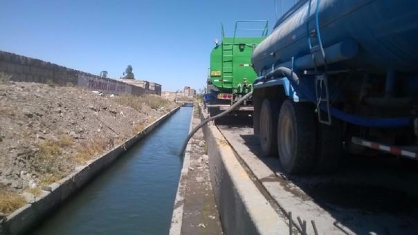 Agua abastecimiento