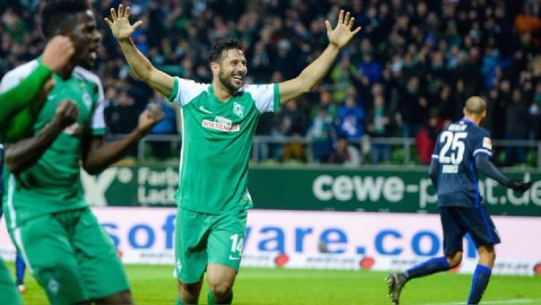Claudio Pizarro fue presentado como refuerzo del colero de la Bundesliga [FOTOS]