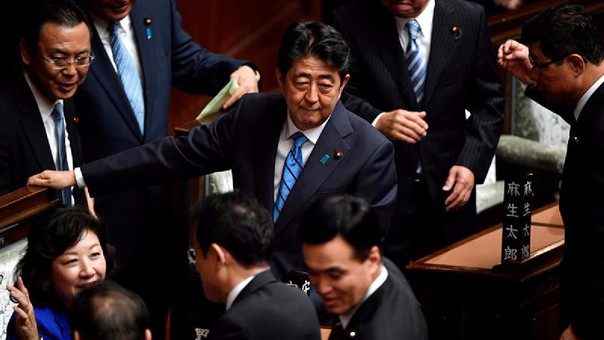 Fue disuelta la cámara de diputados en Japón