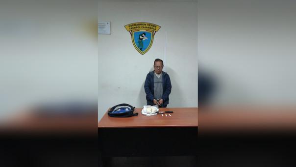 Abelardo Calderón Yaringano (59) permanece en la undiad Depandro a la espera de las investigaciones de rigor