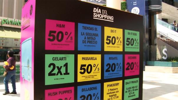 Más de 70 centros comerciales participarán en el Día del Shopping 2017.