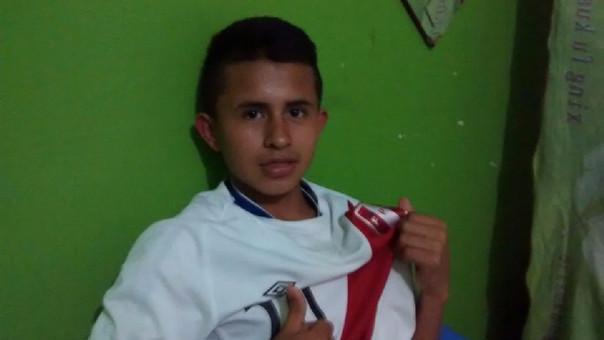 Osama Vindalen Jiménez pretende ser una promesa para el fútbol peruano.