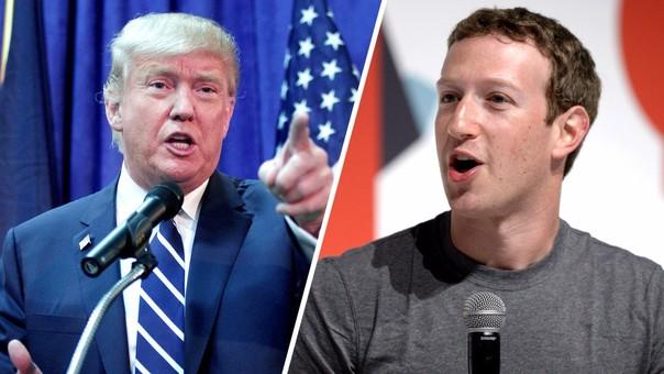 Donald Trump vuelve a chocar con Mark Zuckerberg, que en el pasado ha criticado sus políticas migratorias.