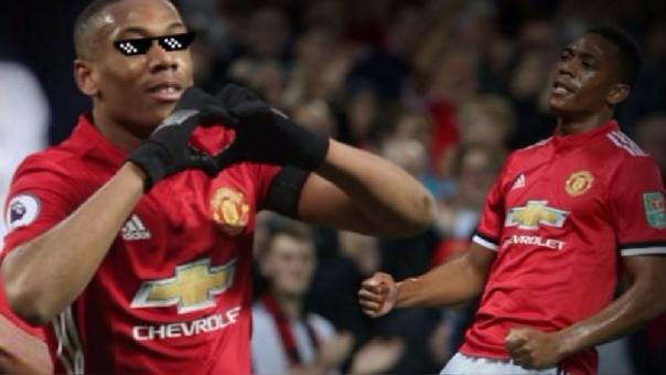 Anthony Martial registra 5 goles y 5 asistencias en los 370 minutos que ha disputado en la presente temporada con Manchester United.