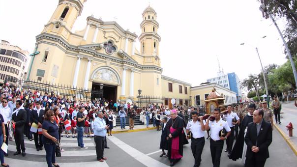 Reliquias de Santa Rosa de Lima en Piura
