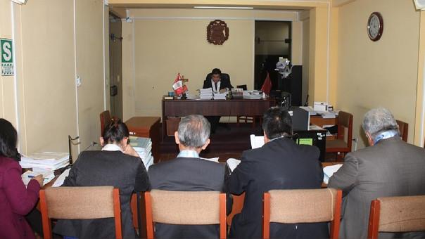 Se inicia primer juicio oral contra expresidente regional Juan Manuel Guillén Benavides