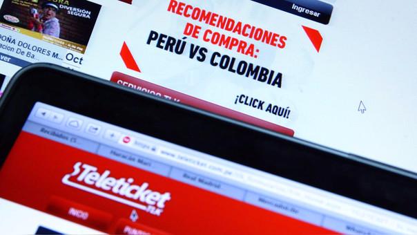La venta de entradas para el duelo entre Perú y Colombia inició hoy a las 6:00 de la mañana y duró tres horas.
