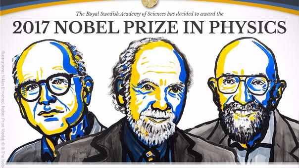 La cuenta del Premio Nobel anunció a los ganadores en Twitter.