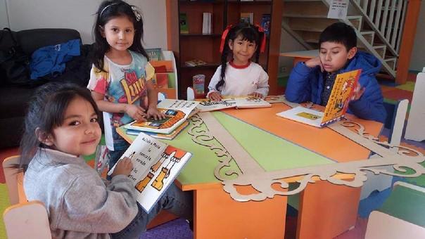 Huancayo biblioteca infantil