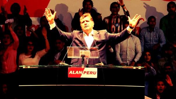 Alan García postuló a un tercer periodo en las elecciones de 2016.