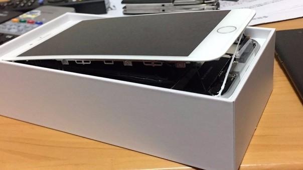 Así luce uno de los iPhone 8 adectados.