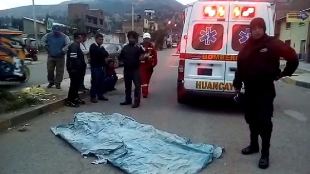 Huancayo: Muere menor de 17 años