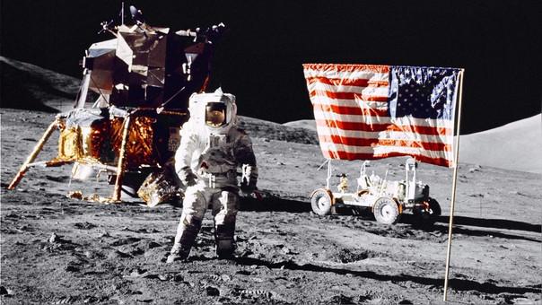 Los estadounidenses pusieron a un hombre en la Luna en 1969.