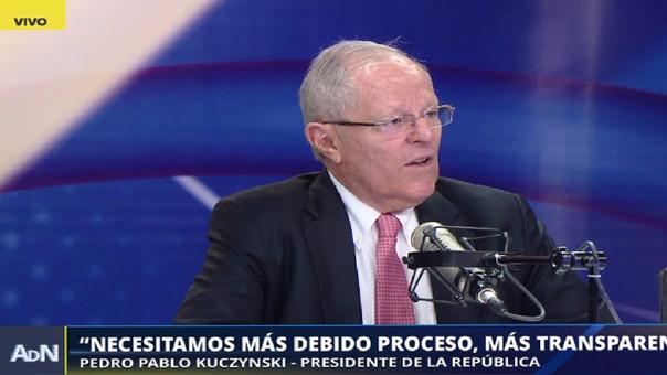 Kuczynski señaló que aún no han revisado las modificaciones hechas por el Congreso al DU N°003.