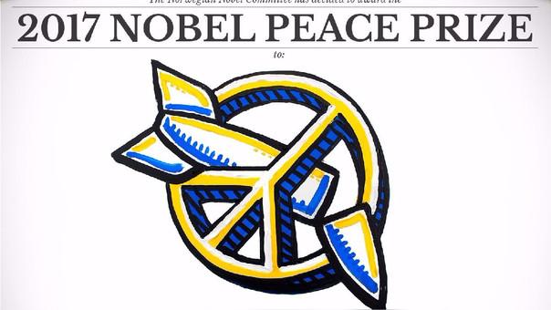 El Nobel reconoció a una iniciativa contra las armas nucleares en medio de las amenazas entre EE.UU. y Corea del Norte.