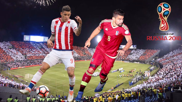 Resultado: Paraguay vs Venezuela, eliminatorias Rusia 2018