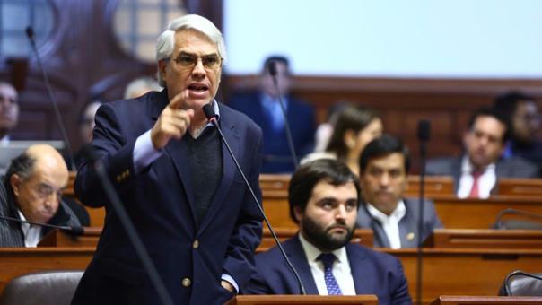 "Gino Costa: ""Es probable que nombramiento de Enrique Mendoza se deba a posible indulto a Fujimori"""