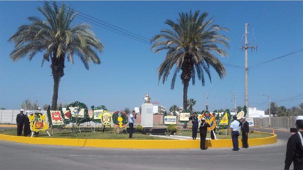 Celebraciones en plazuela Iquique.