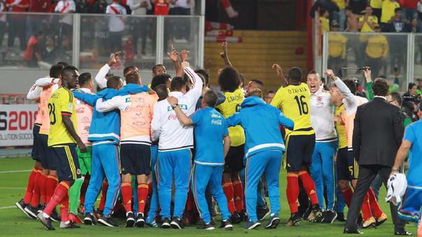 A Colombia le alcanzó con el 1-1 para clasificar directamente al próximo Mundial.