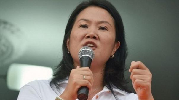Keiko Fujimori ha negado en reiteradas oportunidades haber recibido de la empresa Odebrecht.