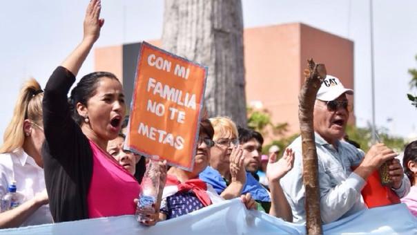 La medida se toma tras una protesta frente al Congreso paraguayo en contra de la llamada