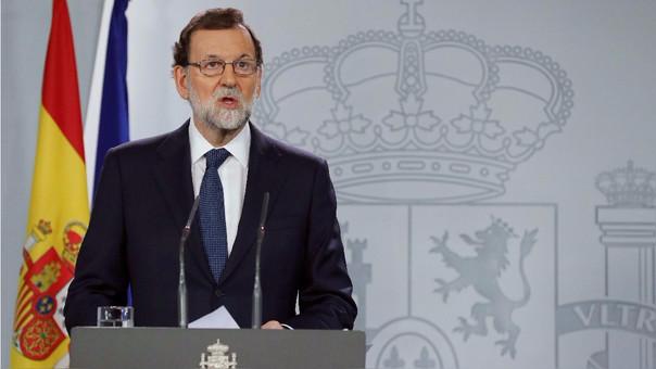 Mariano Rajoy declaró para la prensa este miércoles tras la reunión de su Consejo de Ministros en la que decidieron exigirle al Gobierno catalán si declaró su independencia.