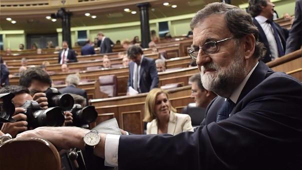 Mariano Rajoy se reafirmó en su postura de no dialogar con el Gobierno catalán bajo las actuales condiciones.