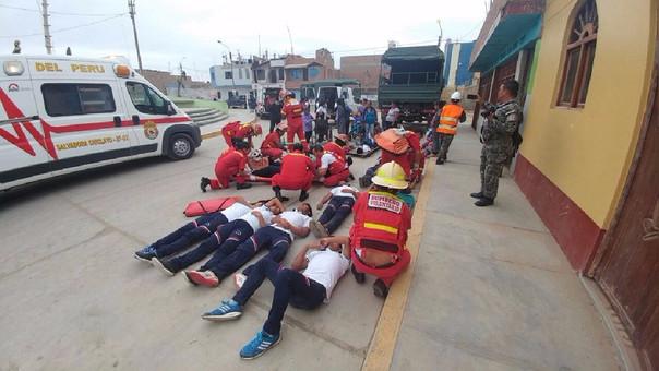 Pocos peruanos participan en simulacros de sismo en la noche