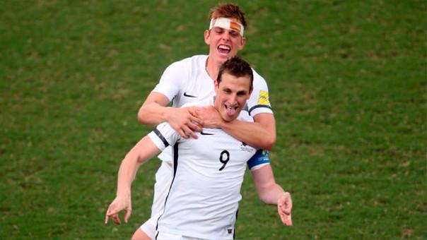 Nueva Zelanda accedió al repechaje tras vencer al Islas Salomón.
