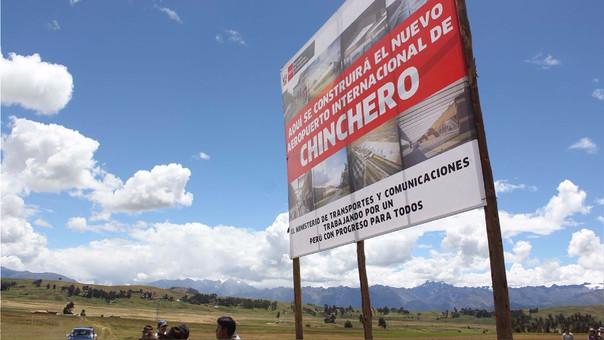 La construcción del aeropuerto de Chinchero está en suspenso luego de que el Gobierno dejó la adenda sin efecto.