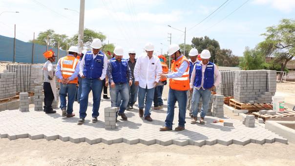Inician los trabajos del paso a desnivel en avenida Sánchez Cerro.