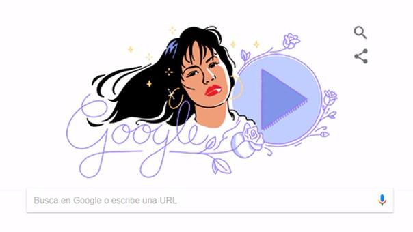 Doodle de Selena